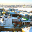 Panoramic January view of Nizhny Novgorod Russia — Stock Photo #8826996