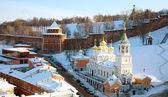Church of the Nativity of St.John the Baptist Nizhny Novgorod — Stock Photo