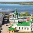 Spring in Nizhny Novgorod Russia — Stock Photo #8880158