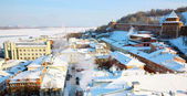 February view oldest part Nizhny Novgorod Russia — Stock Photo