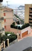 One of the streets Monaco Monte Carlo — Foto de Stock