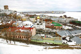 Panoramic March View Nizhny Novgorod Russia — Stock Photo