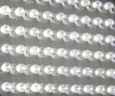 Panel transparent, white LEDs — Stock Photo