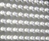 面板透明、 白色 led 指示灯 — 图库照片