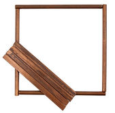 框架的铜导线 — 图库照片