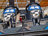 Double go kart — Stock Photo