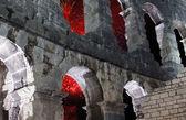 Roman amphitheater — Stock Photo