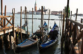 Venice gondola — Stock Photo