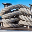 Stock Photo: Bundle of rope