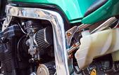 Bike engine — Stock Photo