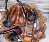 Smoking pipes — Stock Photo