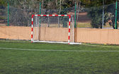 Football goal — Stockfoto