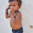 Child from a poor village near Khajuraho in India - Foto de Stock