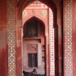 The great mosque in Delhi. - Stock Photo