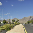 The road in Playa Blanca - Lanzarote, Canary Islands — Stock Photo