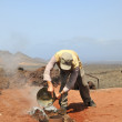 Lanzarote, Spain - June 16, 2011 - Timanfaya National Par — Stock Photo