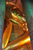 Lying great Buddha in Bangkok — Stock Photo