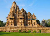 Temple in Khajuraho India — Stock Photo