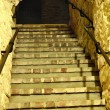 Stairs to the old dungeon. — Stock Photo