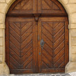 Stock Photo: Old doors.