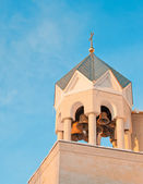 Bell tower of the temple — Stock Photo