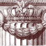 Classic column — Stock Vector