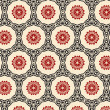 Stok Vektör: Retro wallpaper