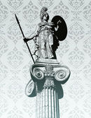 Statue of Athena — Stock Vector