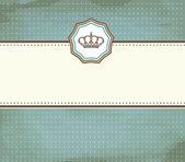 バロック式カード — ストックベクタ