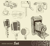 Doodles set — Stock Vector