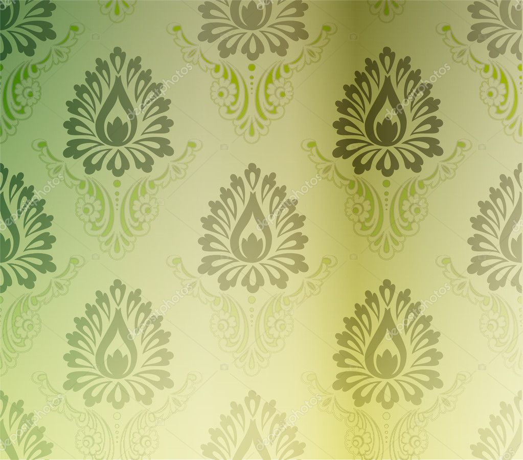 Retro wallpaper — Stock Vector #9599381