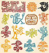 Set - mexican symbols — Stock Photo