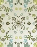 Snowflakes background — Stock Photo