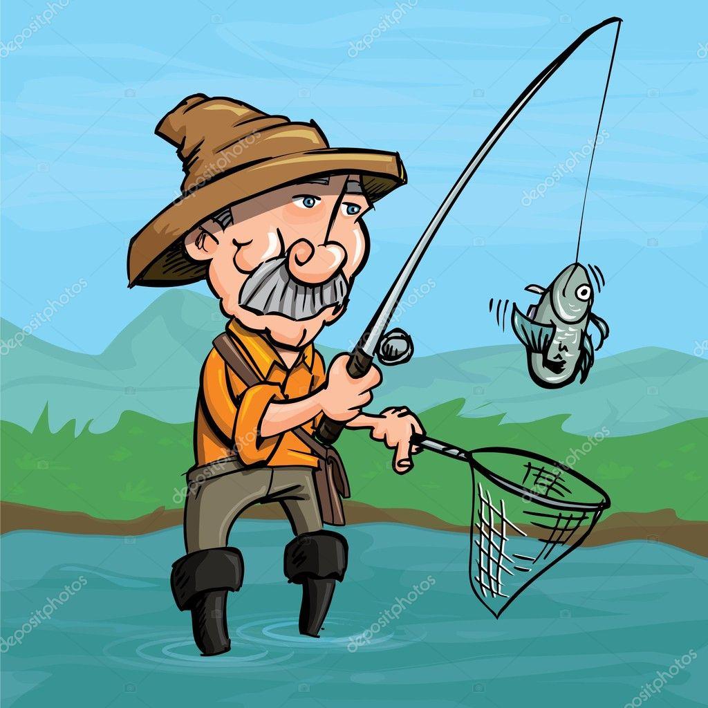 как ловят рыбку мультик