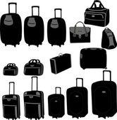 Bags collection - vector — Stock Vector
