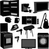 House appliances - vector — Stock Vector