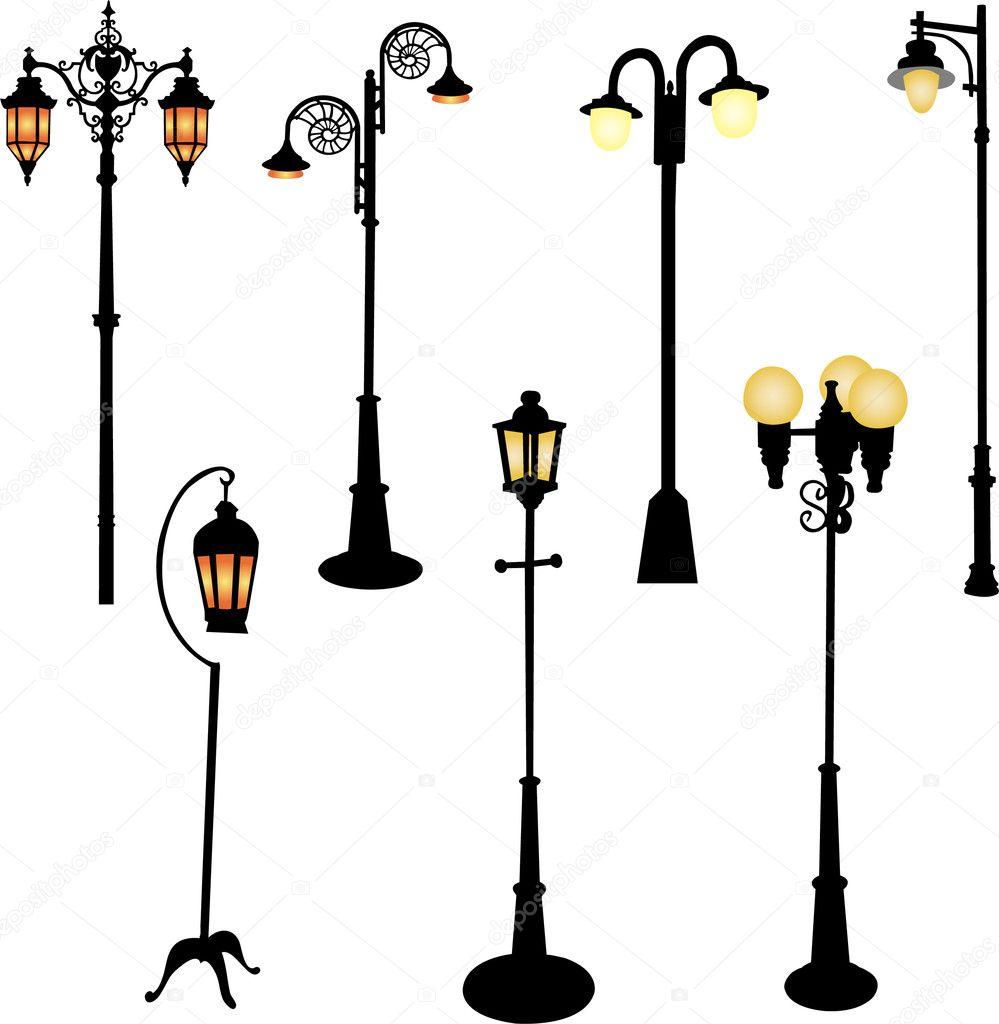 Купить классические уличные светильники и фонари интернет