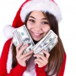 Santa Will Bring More Money — Stok fotoğraf