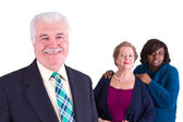 Multi-Cultural Company Team — Stock Photo