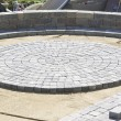 Circle Paver Design — Stock Photo #9955182