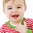 Teething Baby — Stock Photo