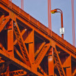 Stock Photo: Golden Gate Bridge at Fort Point
