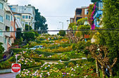 Lombard Street San Francisco — Stock Photo