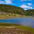 Firehole Lake Yellowstone - Stock Photo