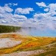 Grand Prismatic Spring Yellowstone — Stock Photo