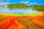 Grand Prismatic Spring Yellowstone — Stock Photo