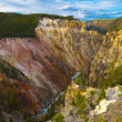 View from the Lower Falls in Yellowstone — Stock Photo #9059420