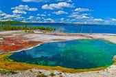 Thermal Pools Yellowstone — Stock Photo