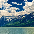 Jackson Lake Landscape — Stock Photo #9379451