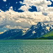 Stock Photo: Jackson Lake Landscape
